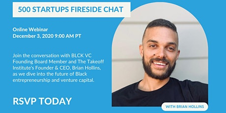 Fireside Chat: Brian Hollins of BLCK VC tickets
