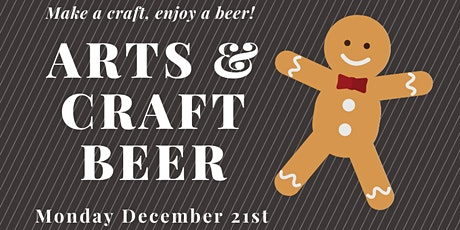 Arts & Craft Beer Night: Cookie Decorating tickets