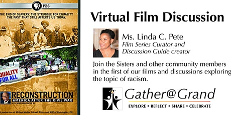 Gather as if @ Grand Film Discussion: Reconstruction-After the Civil War tickets