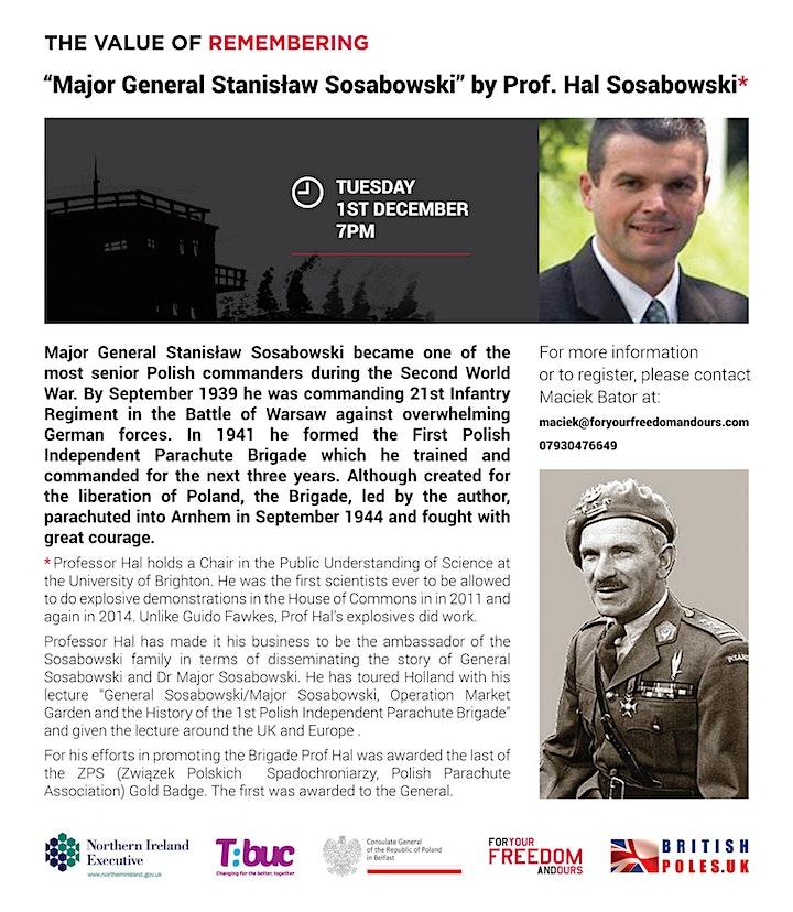 """Major General Stanisław Sosabowski"" by Prof. Hal Sosabowski image"