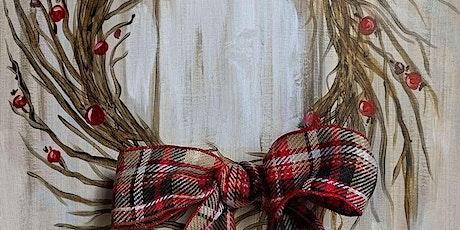 Festive Winter Wreath Virtual tickets