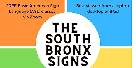The South Bronx Signs tickets