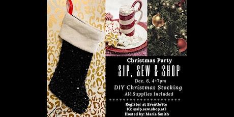 Sip, Sew & Shop ATL tickets