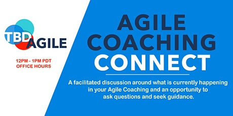 Agile Coaching Connect tickets