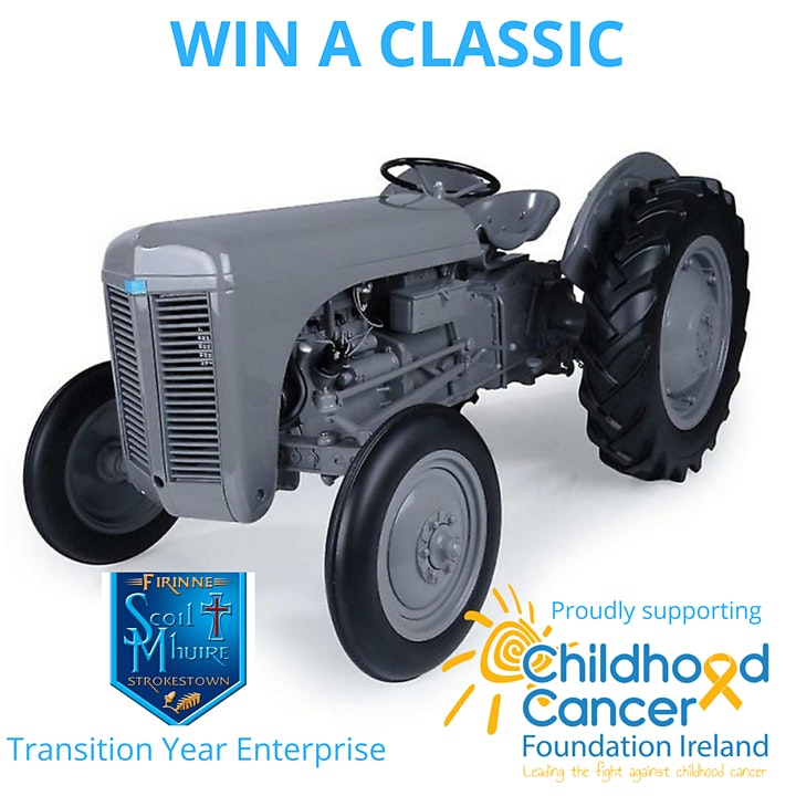 Win  A Classic 4 Kids Cancer image
