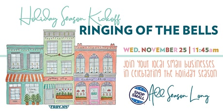 Troy Virtual Ringing of the Bells Holiday Kickoff tickets