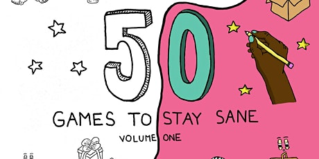 """Drive Thru Book Launch: """"50 Games to Stay Sane"""" tickets"""