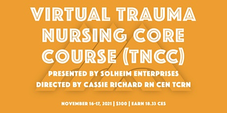 Virtual TNCC with Solheim Enterprises | November 2021 tickets