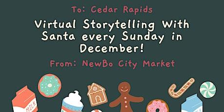Virtual Santa Storytime at the Market! tickets