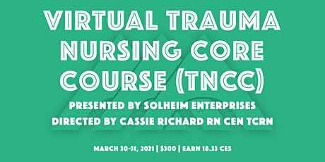 Virtual TNCC with Solheim Enterprises tickets
