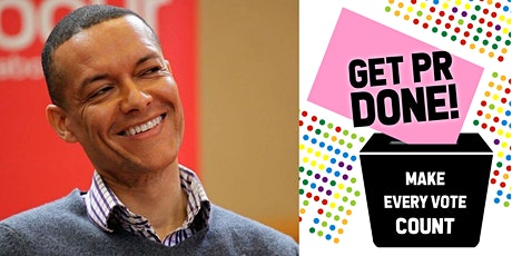Informal Q&A on proportional representation with Labour MP Clive Lewis tickets