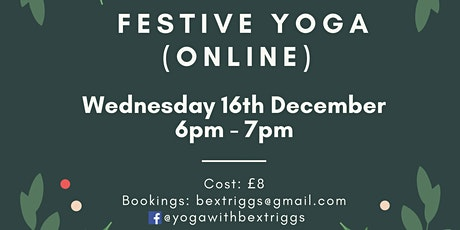 Festive YOGA tickets