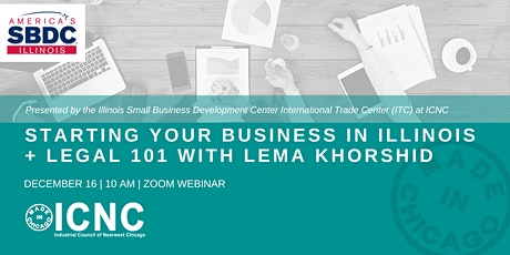 Starting Your Business in Illinois + Legal 101 with Lema Khorshid tickets