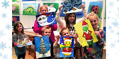 Winter Break Virtual Art Camp (Ages 5+) | Dec 21 - Dec 25| 9:30AM - 12PM tickets