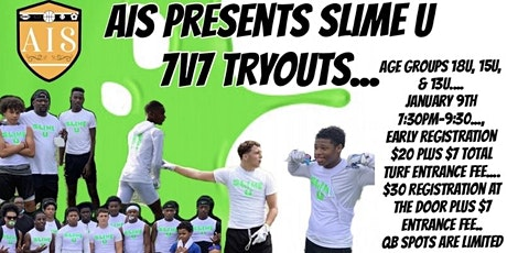 Slime U 7v7 Tryouts tickets