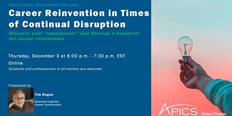 Career Reinvention In Times Of Continual Disruption tickets