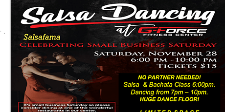 Salsa & Bachata Lessons and Dancing UNDER THE STARS! tickets
