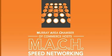 MACH Speed Networking tickets