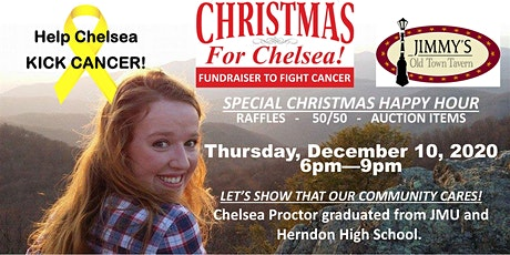 """""""Christmas for Chelsea"""" Cancer Fundraiser tickets"""
