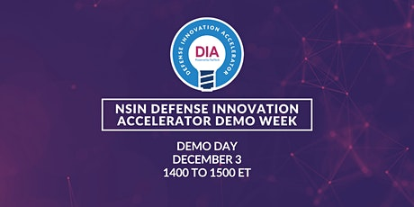 NSIN DIA Demo Week: Demo Day tickets