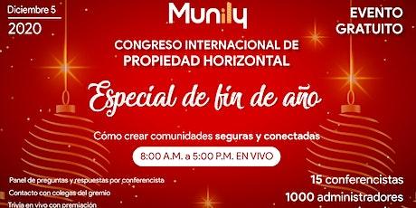 CONGRESO DE PROPIEDAD HORIZONTAL ESPECIAL DE FIN DE AÑO entradas