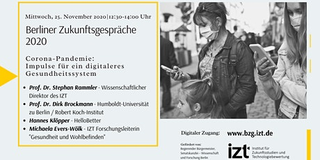 Berliner Zukunftsgespräche 2020 Tickets