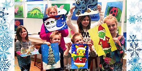 Winter Break Virtual Art Camp (Ages 5+) | Dec 28 - Jan 1 | 9:30AM - 12PM tickets