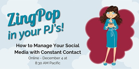 How to Manage Your Social Media with Constant Contact tickets