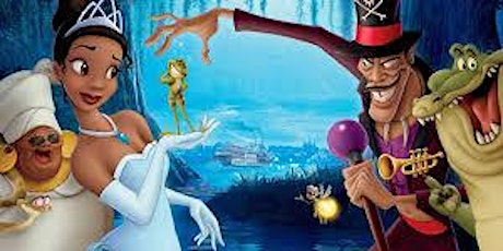 Family Dinner and a Movie Princess and the Frog tickets