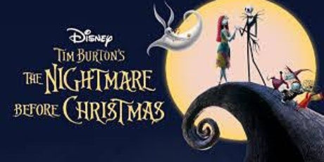 Family Dinner and a Movie Nightmare before Christmas tickets