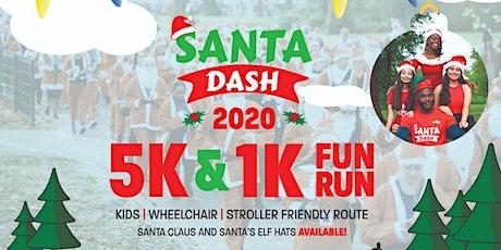 Santa Dash 1k and 5k Fun Runs tickets
