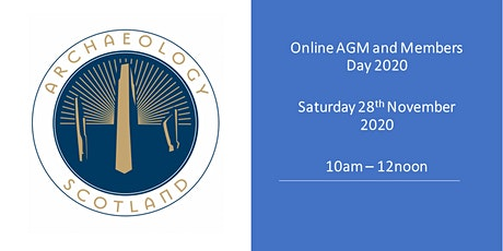 Archaeology Scotland AGM & Members' Day tickets