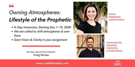 Owning Atmospheres: Lifestyle of the Prophetic tickets
