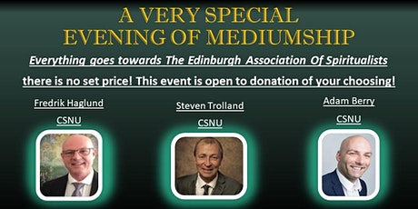 A Special Evening In Aid Of The Edinburgh Association Of Spiritualists tickets