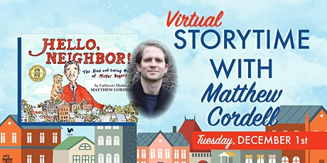 Storytime with Matthew Cordell tickets