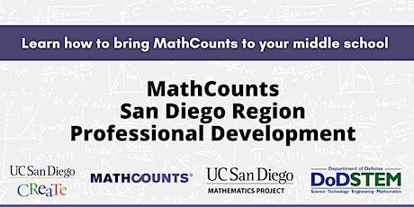 Math Counts San Diego Region Professional Development tickets