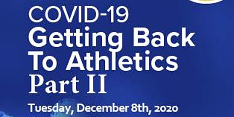VIRTUAL CONFERENCE COVID-19 Getting Back to Athletics:  Hawaii Update tickets