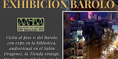 Tour PRESENCIAL Pal. BAROLO: visita y atardecer italiano en balcón piso 11° entradas