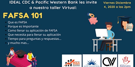 FAFSA- Taller en Español tickets