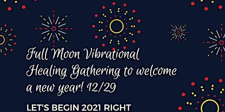Full Moon Vibrational Healing & Sound Bath  (December) tickets
