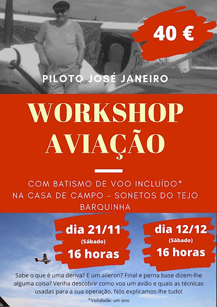 imagem Workshop Aviação