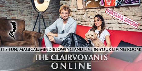 The Clairvoyants ONLINE - Live in your living room! ENGLISH VERSION! tickets