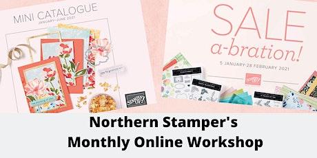 Northern Stamper's Monthly Online Workshop tickets