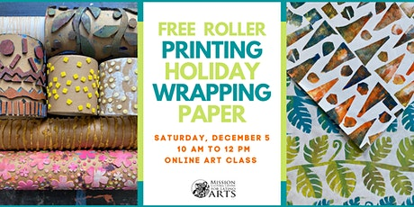 Wrapping Paper Workshop tickets