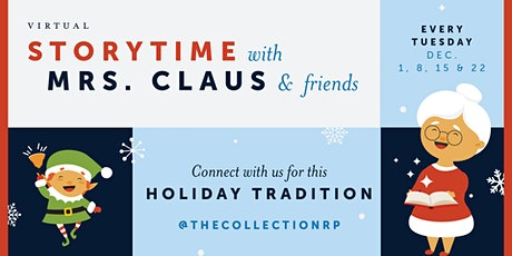 Storytime with Mrs. Claus & Friends tickets