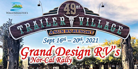 2021 5th Annual Grand Design RV Northern California Rally tickets