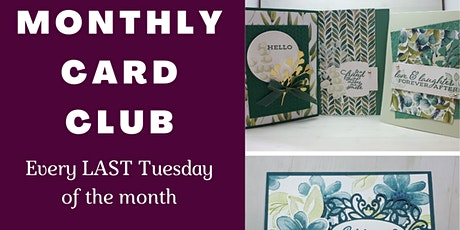 Online Monthly Card Club tickets