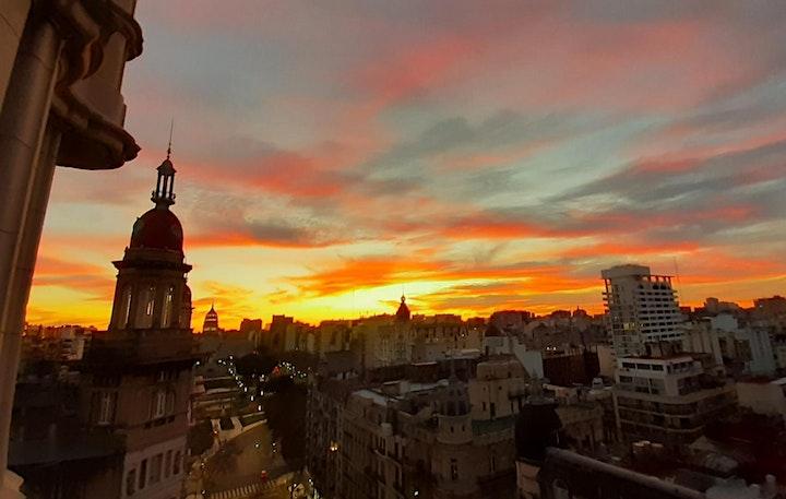 Imagen de PRESENCIAL Pal. BAROLO experiencia Atardecer Italiano en el balcón piso 11°