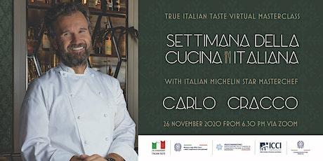 """Extraordinary Virtual Event  - """"Settimana della Cucina Italiana"""" Melbourne tickets"""