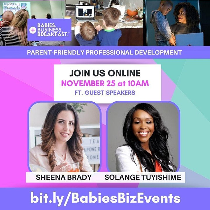 Mixing Babies And Business™: Parent-Friendly Professional Development image